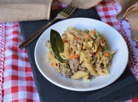 recetas-con-carne-molida-y-pasta