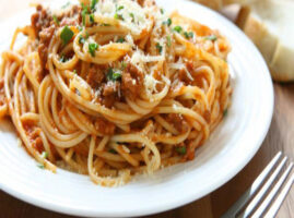 como se prepara el espagueti